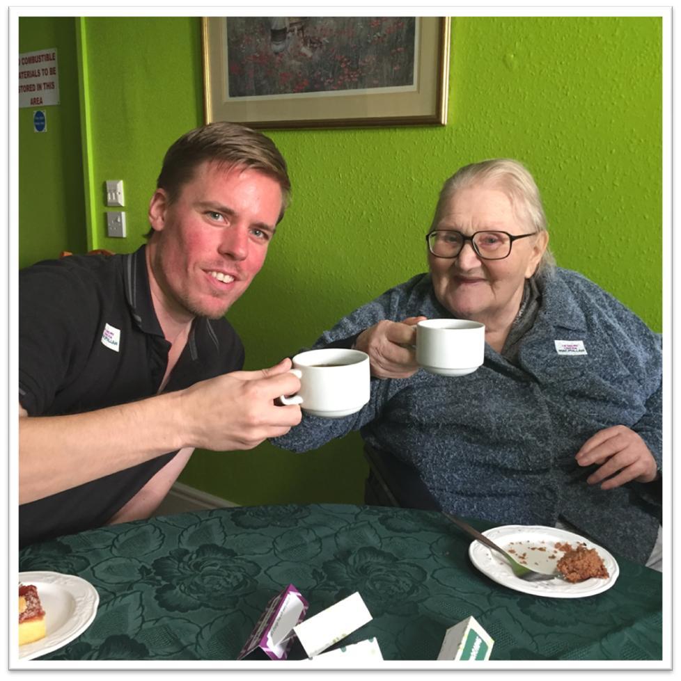 Macmillan Coffee Morning at Frome Nursing Home